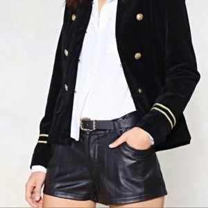✨New✨ Nasty Gal Faux Vegan Leather Shorts | XS